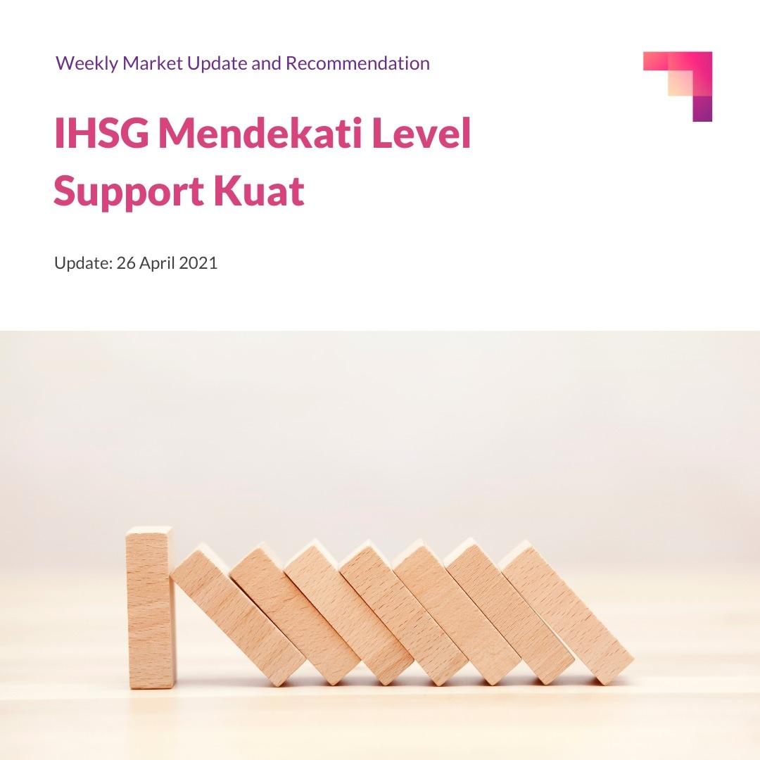 IHSG Mendekati Level Support Kuat